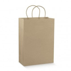 SHOPPERS CON CORDINO CARTA SCOTTON 230X100X300 AVANA 100PZ X CT