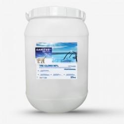 DET. PISCINA SANITEC TRI-CLORO 90% PASTIGLIE 5KG