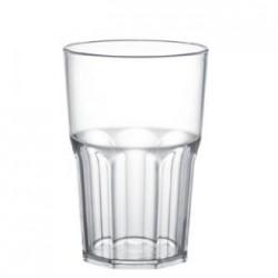 BICCHIERE GOLDPLAST DRINK SAFE GRANITY 400cc SAN TRASPARENTE 5PZ X 15CF X CT