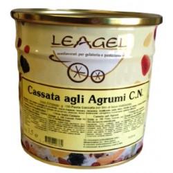 PASTA GELATO CASSATA AGLI AGRUMI LEAGEL 3,5KG X 2LA X CT