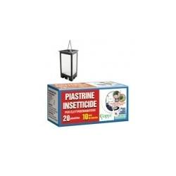 INSETTICIDA PIASTRINE PER ELETTROEMANATORE 24PZ X 24CF X CT