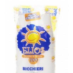 BICCHIERE ACQUA ELIOS 160cc PP TRASPARENTI 100PZ X 30CF X CT