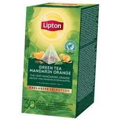 TEA LIPTON PYRAMID GREEN MANDARIN ORANGE 25 FILTRI X 6CF X CT