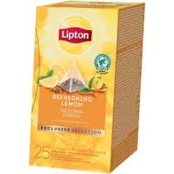 TEA LIPTON PYRAMID REFRESHING LEMON 25 FILTRI X 6CF X CT