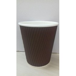 BICCHIERE CARTONCINO THERMIC STYLE 350ML MARRONE 25PZ X 20CF X CT