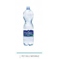 ACQUA NATURALE FONTALBA 1,5LT PET 6PZ X CF