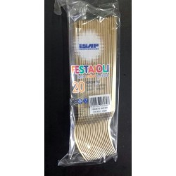POSATE FORCHETTA ISAP FESTAIOLI PS ORO 20PZ X 30CF X CT
