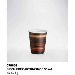 BICCHIERE CARTONCINO ISAP PASSO E BEVO VERONA 150cc 58PZ X 45CF X CT