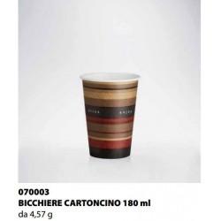 BICCHIERE CARTONCINO ISAP PASSO E BEVO VERONA 180cc 58PZ X 45CF X CT