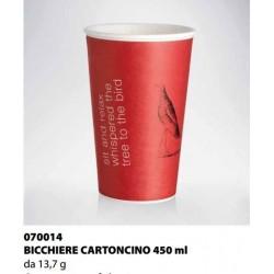 BICCHIERE CARTONCINO ISAP PASSO E BEVO ROMA 450cc 50PZ X 20CF X CT