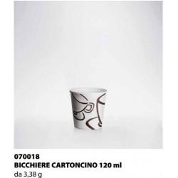 BICCHIERE CARTONCINO ISAP PASSO E BEVO MILANO 120cc 55PZ X 28CF X CT