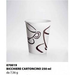 BICCHIERE CARTONCINO ISAP PASSO E BEVO MILANO 250cc 34PZ X 35CF X CT