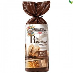 PAN BAULETTO INTEGRALE MULINO BIANCO 400GR 8CF X CT