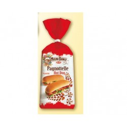PAGNOTTELLE PER HOT DOG MULINO BIANCO 325GR 6PZ X 8CF X CT