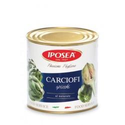 CARCIOFI A SPICCHI AL NATURALE IPOSEA 2650ML 6LA X CT