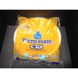 PIATTO FONDO CIA PACKING PP 700GR X 20CF X CT