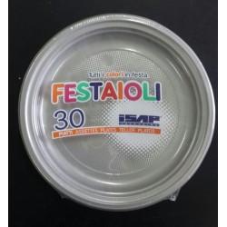 PIATTO PIANO ISAP FESTAIOLI D22cm PS ARGENTO 30PZ X 26CF X CT