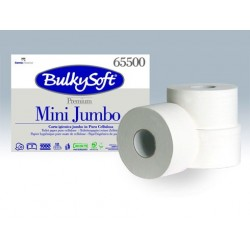CARTA IGIENICA MINI JUMBO BULKYSOFT PREMIUM 145mt 12 RT X CF