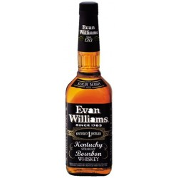 WHISKY EVAN WILLIAMS BLACK 70CL