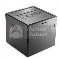 BOX TERMICO THERMOHAUSER PER PIZZA O TORTA NERO 41,5LT