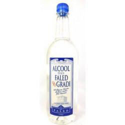 ALCOOL 96° PURO FALED BUONGUSTO 1LT 6PZ X CT