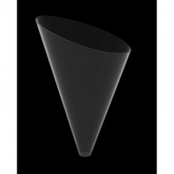 F.F. CONO GOLDPLAST SLICE 40cc PS TRASPARENTE 120PZ X 4CF X CT