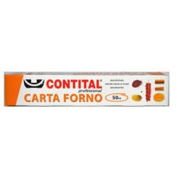 ROTOLO CARTA FORNO BOX 50MT LARGHEZZA 40CM 12PZ X CT