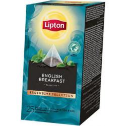 TEA LIPTON PYRAMID ENGLISH BREAKFAST 25 FILTRI X 6CF X CT