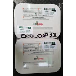 COPERCHIO PER VASCHETTA GASTRO 2/3 PORZ ECOCANNY BIO 100PZ X 4CF X CT