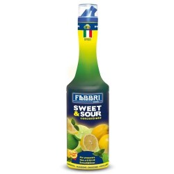 SWEET AND SOUR CONCENTRATO LIQUIDO FABBRI 1300ML 6PZ X CT