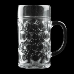BOCCALE GOLDPLAST DRINK SAFE BIRRA GRANDE 1320cc SAN TRASPARENTE 6PZ X CT