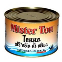 TONNO IN TRANCI IN OLIO D'OLIVA CALLIPO MR TONNO 1,650KG 6LA X CT