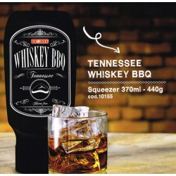 SALSA BARBECUE TOPFOOD WHISKEY TENNESSE TOP DOWN 370ML 10PZ X CT