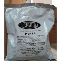 PREPARATO GRANITA MENTA PREMIUM 620GR X 24PZ X CT