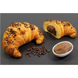 CROISSANT GIANDUIA PRELIEVITATO DECORATO MAXI 90GR 48PZ X CT