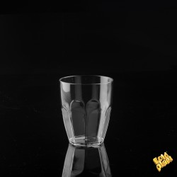 BICCHIERE GOLDPLAST DRINK SAFE SUMMER 335cc SAN TRASPARENTE 6PZ X CT